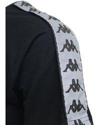 Kappa ジャージーtシャツ - ブラック