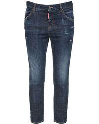 "DSquared² Jeans Aus Baumwolldenim ""cool Girl"" - Blau"