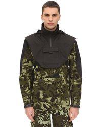 Nike X Mmw Mens Hooded Fleece Jacket - Black