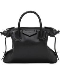 """Givenchy Tasche Aus Weichem Leder """"antigona"""" - Schwarz"""
