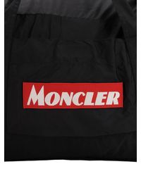 "Moncler Reisetasche Aus Nyontechnique ""nivelle"" - Schwarz"