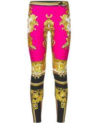 Versace Леггинсы С Принтом - Многоцветный