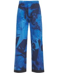 Moncler Genius Grenoble ナイロンスキーパンツ - ブルー