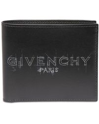 Givenchy - Sketchロゴ レザーウォレット - Lyst