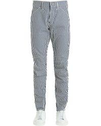 G-Star RAW - Elwood Hickory Stripe Print Denim Jeans - Lyst