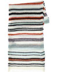Missoni Strickschal Aus Wollmischung - Mehrfarbig