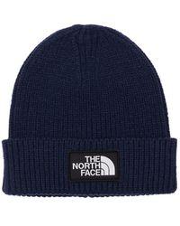The North Face アクリルブレンドニットビーニー - ブルー
