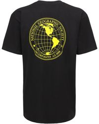 """Vans - T-shirt """"national Geographic"""" In Jersey - Lyst"""