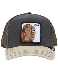 Goorin Bros Beast Affair Trucker Hat W/patch - Grey