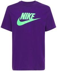 "Nike Basic-t-shirt ""futura"" - Lila"