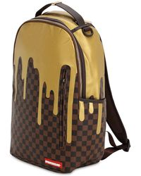 Sprayground - Zaino In Ecopelle Check - Lyst