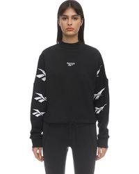 Reebok Classics Vector Crew Sweatshirt - Black