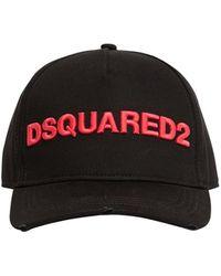 DSquared² - Бейсбольная Кепка Из Габардина - Lyst