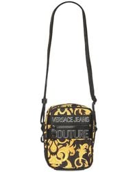 Versace Jeans Couture Baroque クロスボディバッグ - ブラック