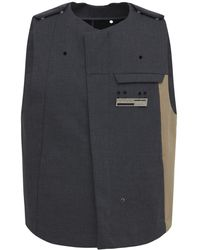 A_COLD_WALL* - Mackintosh コットンベスト - Lyst