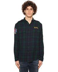 Polo Ralph Lauren - コットンツイル チェックシャツ - Lyst