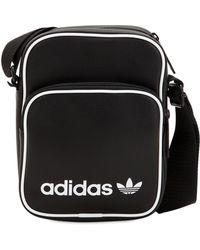 57c0bf9b13f0 Lyst - Adidas Originals Branded Messenger Bag in Black for Men
