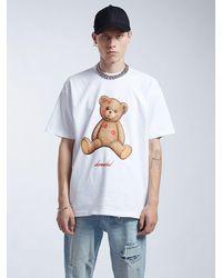 DOMREBEL Smooch Cotton Jersey T-shirt - White