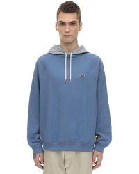 Lacoste コットンスウェットシャツ - ブルー