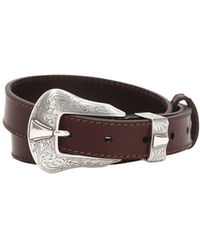 KATE CATE - 25mm Americana Leather Belt - Lyst