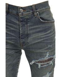 "Amiri 15cm Jeans Aus Denim ""mx1"" - Blau"