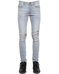 """April77 Jeans En Denim """"joey Relic Ashbury"""" 16cm - Bleu"""