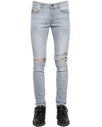 "April77 Jeans ""Joey Relic Ashbury"" In Denim 16Cm - Blu"