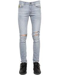 April77 16cm Joey Relic Ashbury Denim Jeans - Blue
