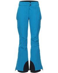 3 MONCLER GRENOBLE スキーパンツ - ブルー