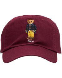 Polo Ralph Lauren Boston Commons Bear キャップ - レッド