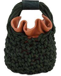 Johanna Ortiz - Escucho El Pacifico Ruby Knit Bucket Bag - Lyst