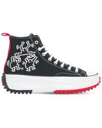 Converse Keith Haring Run Star Hike Sneakers - Black