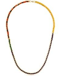 Missoni - Iconic Chain Braided Long Necklace - Lyst
