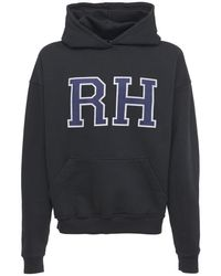 Rhude Fluer Market Sweatshirt Hoodie - Black