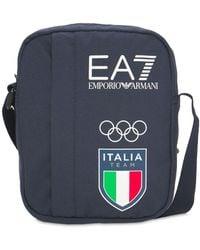 EA7 Italia Olympic Team Pouch - Blue