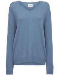 Loulou Studio Suéter De Punto De Cashmere - Azul