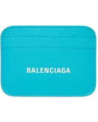 Balenciaga - Кожаная Кредитница - Lyst