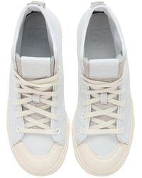 adidas Originals Белые Высокие Кроссовки Nizza-белый