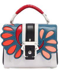 Paula Cademartori - Dun Dun Leather Top Handle Bag - Lyst