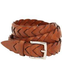 Etro - 25mm Woven Leather Belt - Lyst