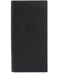 Bally サフィアーノレザー 縦型長財布 - ブラック