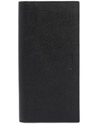 Bally - Saffiano Leather Vertical Wallet - Lyst