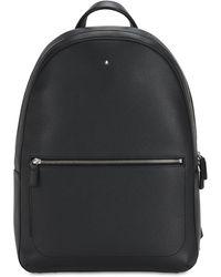 Montblanc Meisterstück Slim Leather Backpack - Black