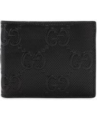 Gucci Бумажник С Тисненым Логотипом - Черный