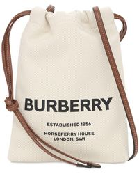 Burberry Сумка Из Канваса С Принтом - Многоцветный