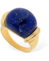"Sophie Buhai Bague En Lapis-lazuli ""demain"" - Bleu"