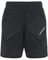 """Nike Fleece-shorts """"23 Enginereed"""" - Schwarz"""