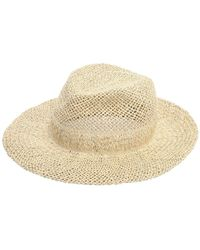 Scha Chicago Big D Straw Hat - Natural