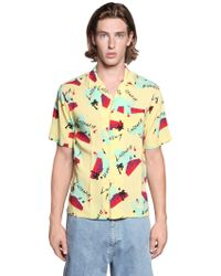 Carhartt - Anderson Printed Viscose Shirt - Lyst