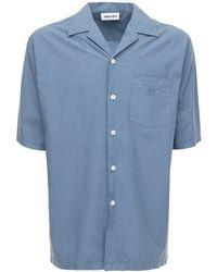KENZO - コットンポプリンボウリングシャツ - Lyst